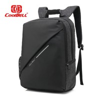 Cool Backpack school COOLBELL new hot waterproof Shock proof cotton computer bag 15.6 Notebook Backpack Business Laptop bag  shipping AT_52_3