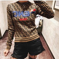 FENDI Mania FF Knitted Sweater