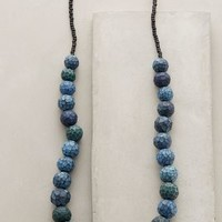 Waxing Gibbous Necklace by Jibby and Juna Blue Motif All Necklaces
