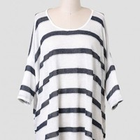 Call Back Striped Top