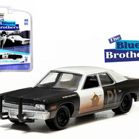 1974 Dodge Monaco Bluesmobile The Blues Brothers (1980) 1-64 Diecast Model Car by Greenlight