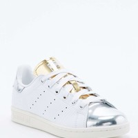 Adidas Stan Smith Silver Toe Trainer - Urban Outfitters