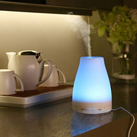 Essential Oil Diffuser 100ml - Exqline 100ml Ultrasonic Aroma Essential Oil Diffuser Cool Mist Humidifier with 7 Color Changing LED Lamps for Home Yoga Office SPA Bedroom Baby Room