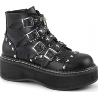 EMILY-315 | Black Vegan Leather [PREORDER]