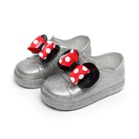 Kids Sandals Kids Summer Autumn Cartoon Beauty Beast Shoes Boys Girls Minnie Shoes Jelly Sandals Princess Shoes