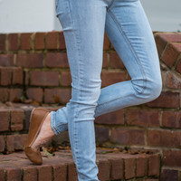 The Carrie Skinny Jean, Light Denim