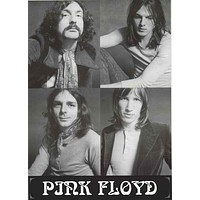 Pink Floyd Band Portrait Poster 24x33