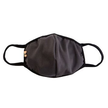 Keeping it in Style! Solid Charcoal Face Masks - Covid 19