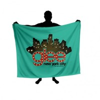 Glee NYC Skyline Blanket