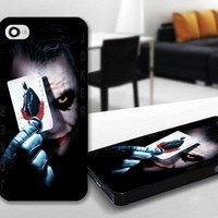 The Joker And The Batman Series for iPhone 5 Black case