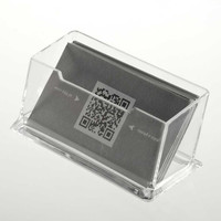 1pc Clear Acrylic Business Card Holder Display Stand Desk Desktop Countertop Newest New Arrival