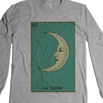 La Luna-Unisex Heather Grey T-Shirt