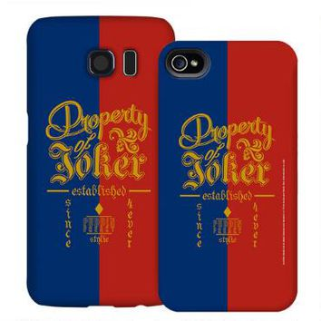 Suicide Squad Property of Joker Phone Case for iPhone and Galaxy  