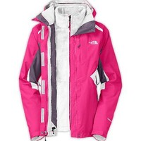 The North Face Women's Jackets & Vests WOMEN'S BOUNDARY TRICLIMATE JACKET