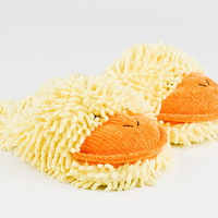 Fuzzy Duck Slippers | Animal Slippers | BunnySlippers.com