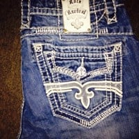 Rock and revival jeans