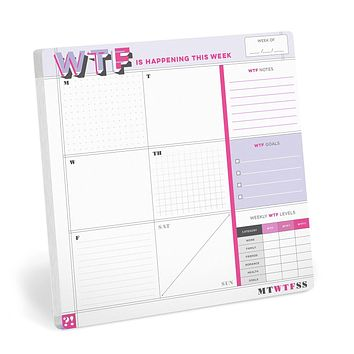 """WTF is Happening This Week Sticky Paper Mousepad 
