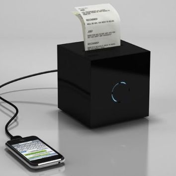 BlackBox to create physical copies of electronic messages and mails