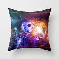Jack Skellington. Throw Pillow by Emiliano Morciano (Ateyo)