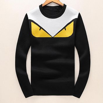 FENDI Hot Sale Men Women Warm Long Sleeve Sweater Sweatshirt