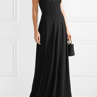 Tomas Maier - Stretch-crepe maxi dress