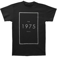 1975 Men's  Original Logo Slim Fit T-shirt Black