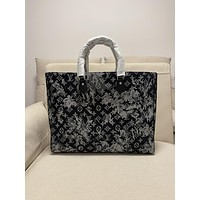 LV Louis Vuitton Women Leather Shoulder Bags Satchel Tote Bag Handbag122