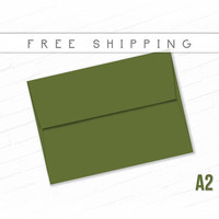 Color Envelopes A2 Size - 15 Pack Jelly Bean Green Invite Envelopes High Quality Envelopes Thank You Notes Free Shipping Green Sale