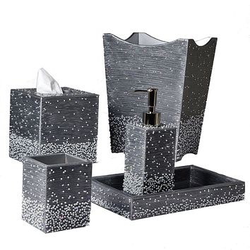 Caviar Bath Accessories by Mike + Ally