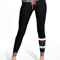 Lace-Up Campus Legging - PINK - Victoria's Secret