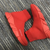 Balenciaga Speed Trainers Red - Best Deal Online