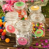 Perfectly Plain Collection Apothecary Jar Favors, 1