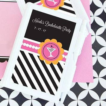 Bachelorette Party Personalized Notebook Favors