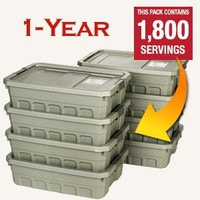 One Year Emergency Food Supply w/ Free Shipping | Patriot Pantry