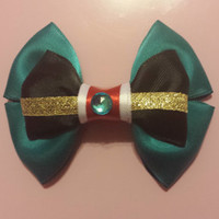 Merida Inspired Hair Bow