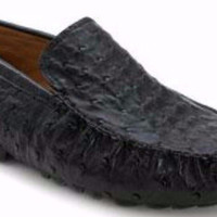 Banff Ostrich Loafer by Mezlan
