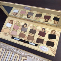 Drop shipping Pro Cosmetic eye shadow nake makeup 2015 new the balm nude tude 12 colors eyeshadow Palette with Brush