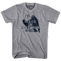 Made In America Eagle T-shirt, Grey Heather