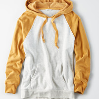 AE Ahhmazingly Soft Colorblock Hoodie, Mustard