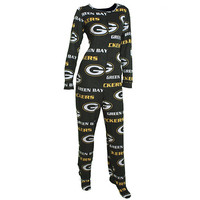 Green Bay Packers Facade Union Suit