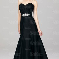 Online With Trailing Black Evening Prom Dress LFNAF0043, Shop Prom with SheinDress.co.uk