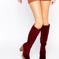 ASOS CHARMED 70's Knee High Boots