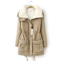 Fashion Women's Jackets, Women's Winter Coat, Women Parka Down