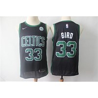 Men's Boston Celtics Larry Bird Black Swingman Jersey - Best Deal Online
