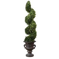 Uttermost 60094 Preserved Boxwood Spiral Topiary
