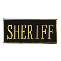 Voodoo Tactical Sheriff Patch