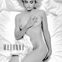 """Madonna Poster Black and White Poster 24""""x36"""""""