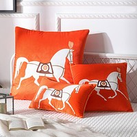 Hermes Home Decor Pillow  30*50cm 45*45cm 65*65cm