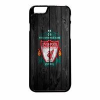 Liverpool FC Wood Style iPhone 6 Plus Case