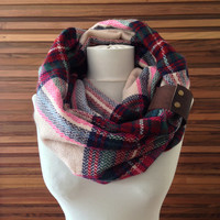 Sale Blanket Scarfs Red Infinity Scarf Plaid Zara Scarf Pinterest Scarf Zara Blanket Scarf Fall Fashion Scarf Holiday Gift Ideas For Her